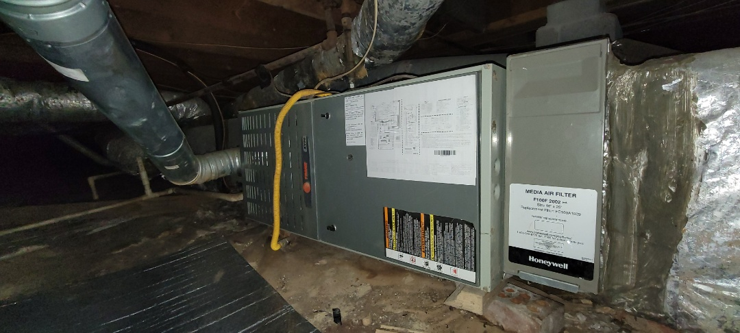 Marietta, GA - Performed Heat Maintenance on a Trane and Amana furnaces. Marietta