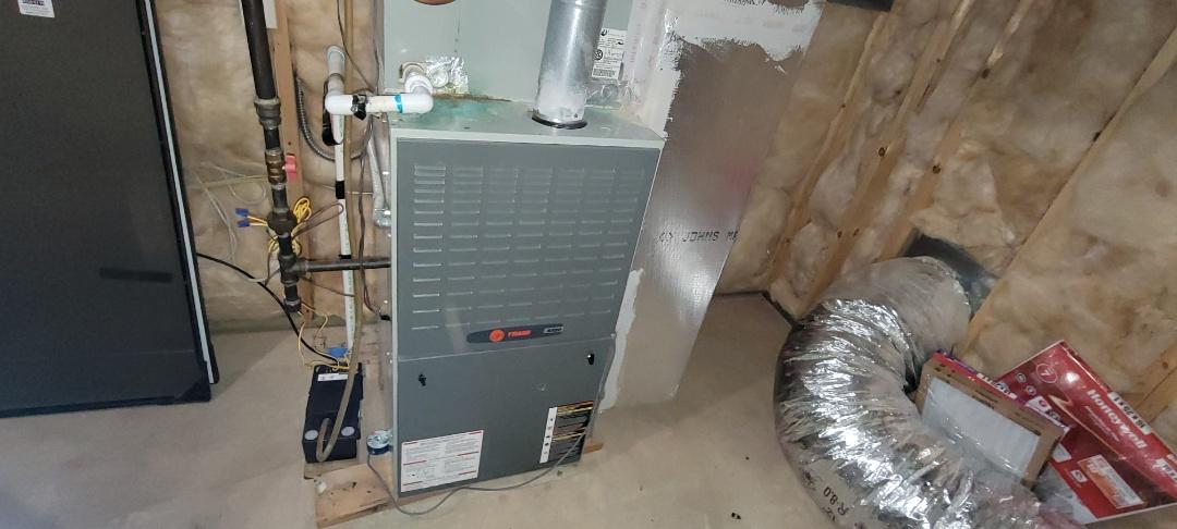 Smyrna, GA - Performed Heat and Cooling Maintenance on a Trane Equipment. Smyrna