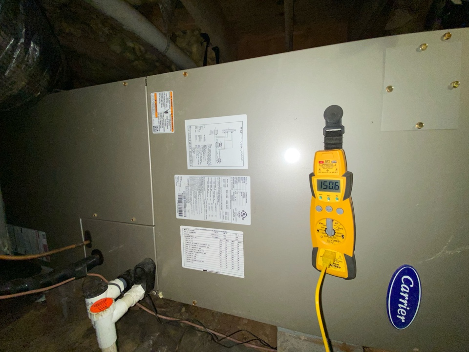 Smyrna, GA - Heat maintenance on Carrier air handler and heat pump