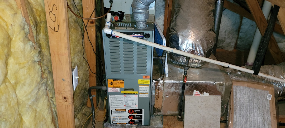 Acworth, GA - Performed Heat Maintenance on 2 Goodman Furnaces. Acworth