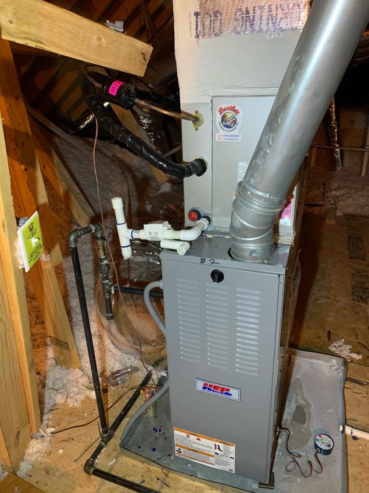 Acworth, GA - Performed Heat maintenance on two Heil systems Acworth, Ga