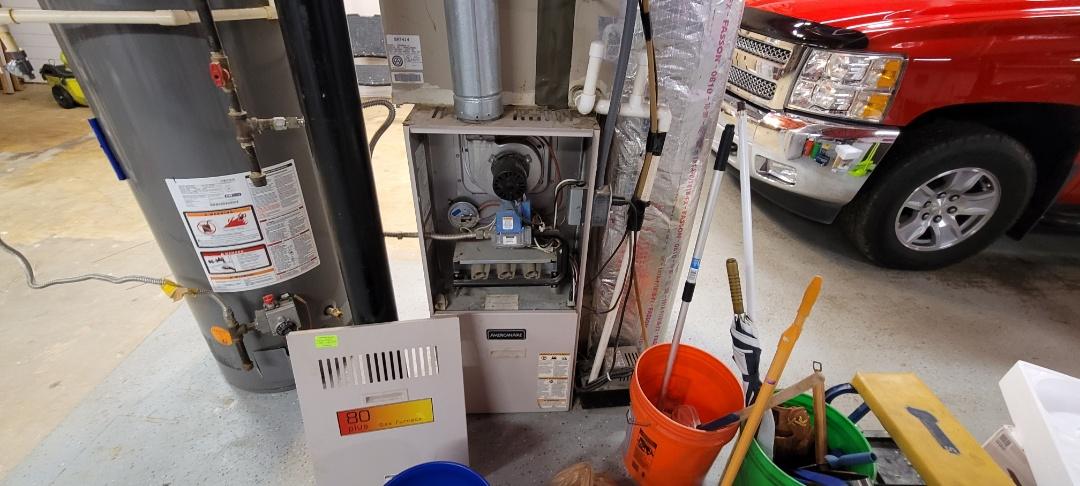 Acworth, GA - Performed Heat Maintenance on 2 Lennox Furnaces. Acworth