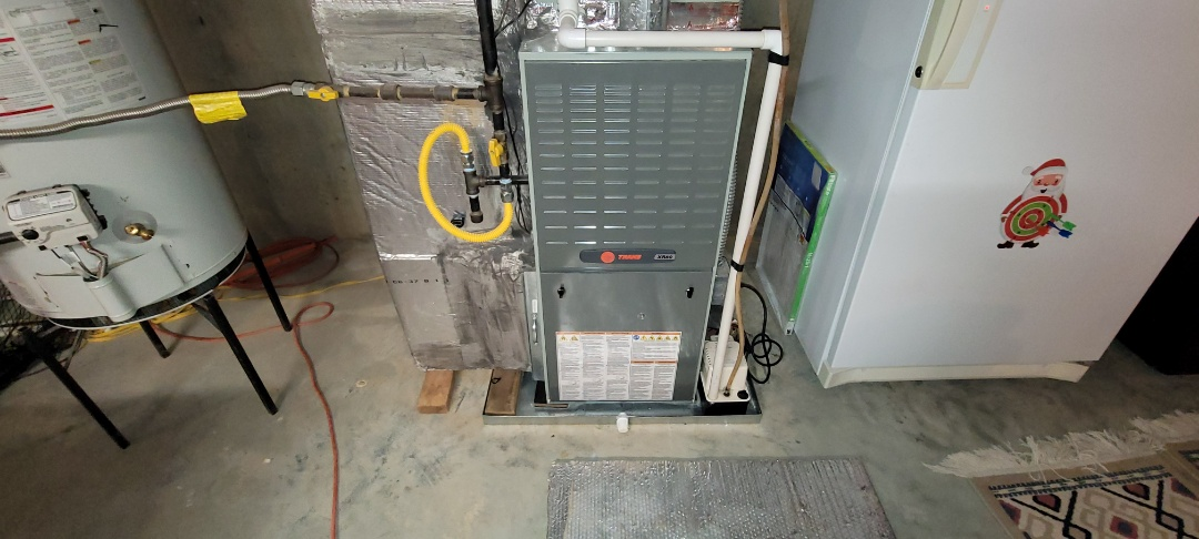Acworth, GA - Performed Heat Maintenance on 2 Trane Furnaces. Acworth