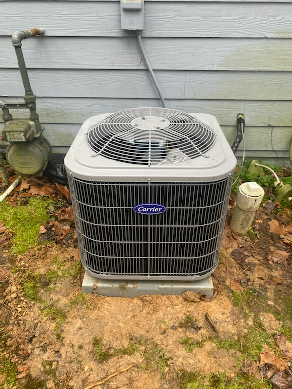 Powder Springs, GA - Installed new Carrier 14 seer condenser with Carrier gas furnace