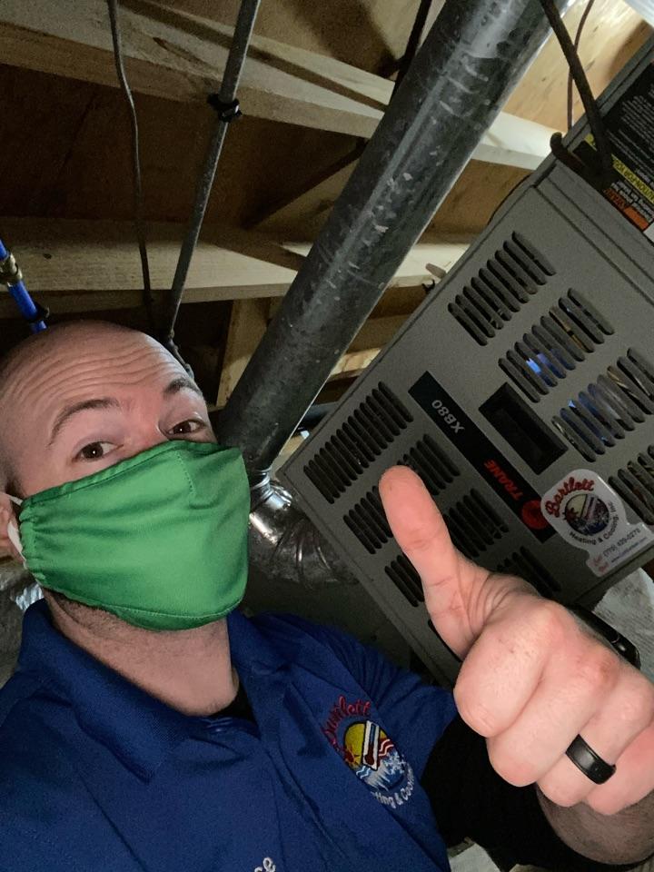 Heat maintenance on Trane furnace