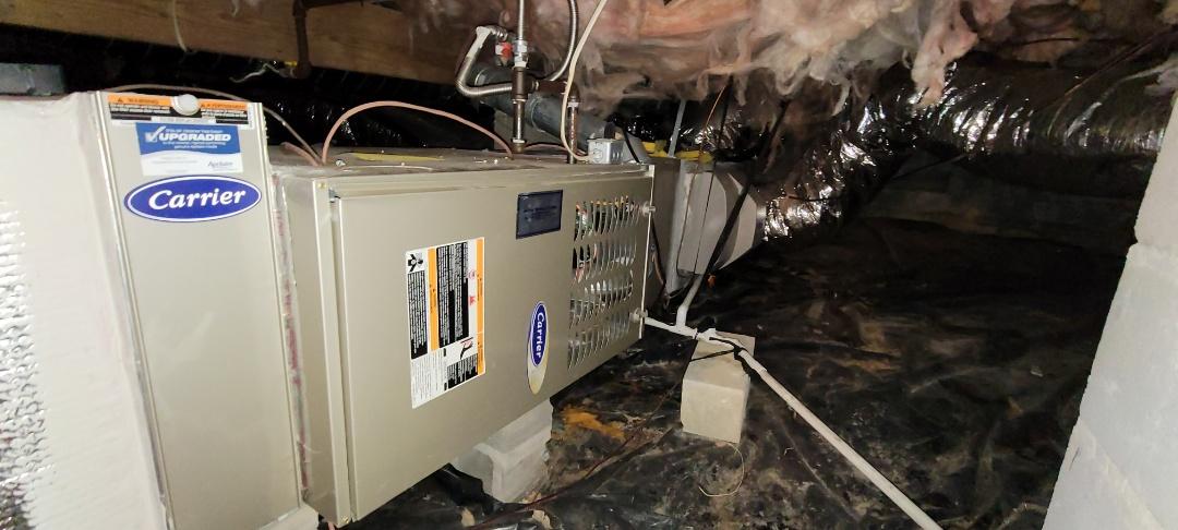 Powder Springs, GA - Performed Heat Maintenance on a Horiz. Riud Furnace. Powder Sprinhs