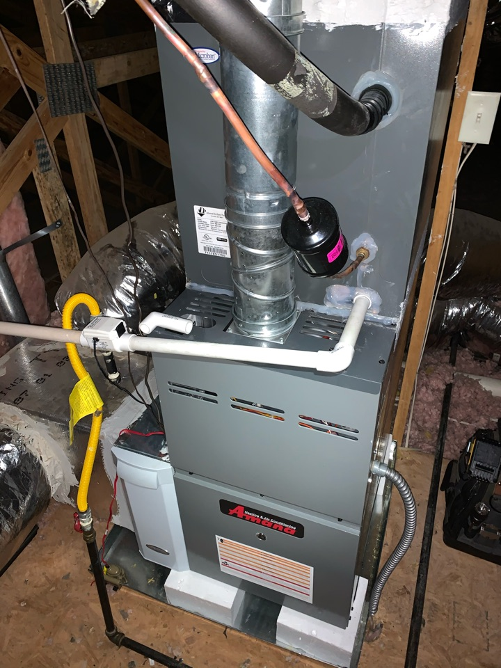 Powder Springs, GA - Performed Heat maintenance on 2 Amana systems.