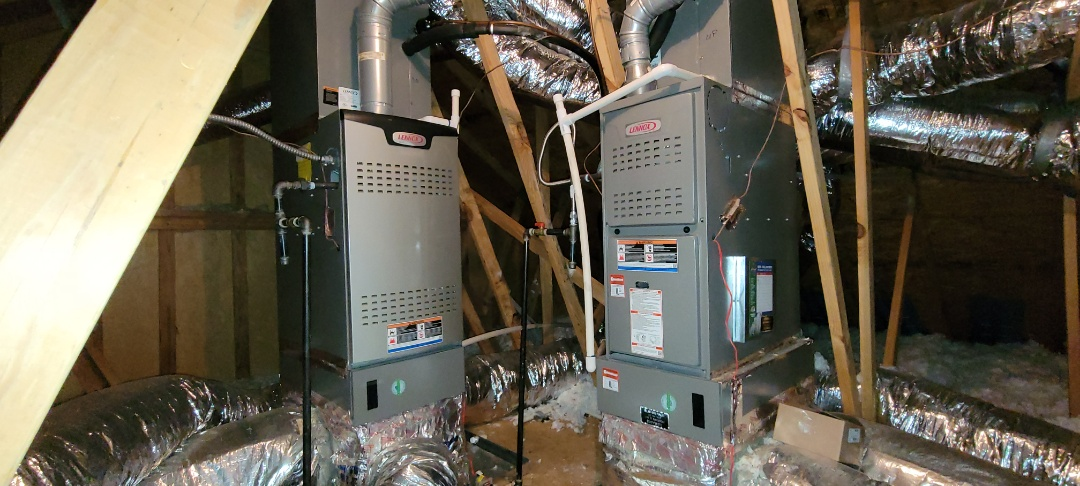 Kennesaw, GA - Performed Heat Maintenance on 2 Lennox Furnaces. Kennesaw