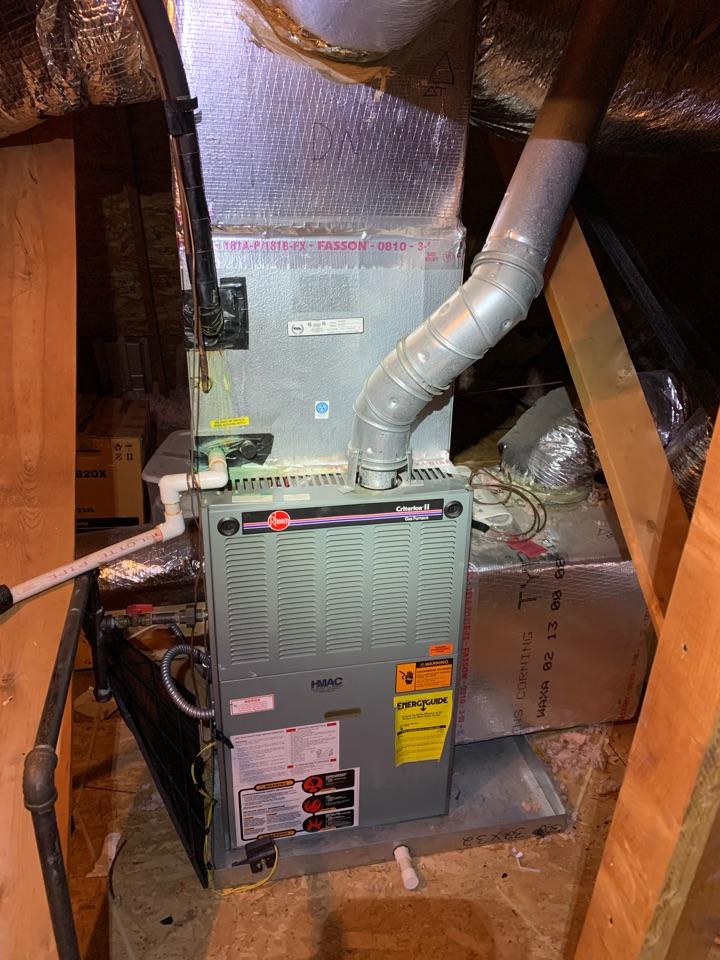 Mableton, GA - Performed Heat maintenance on 2 Rheem systems