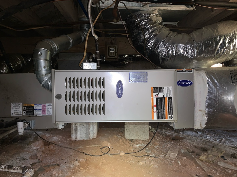 Smyrna, GA - Performed Heat maintenance on Carrier system in Smyrna Georgia