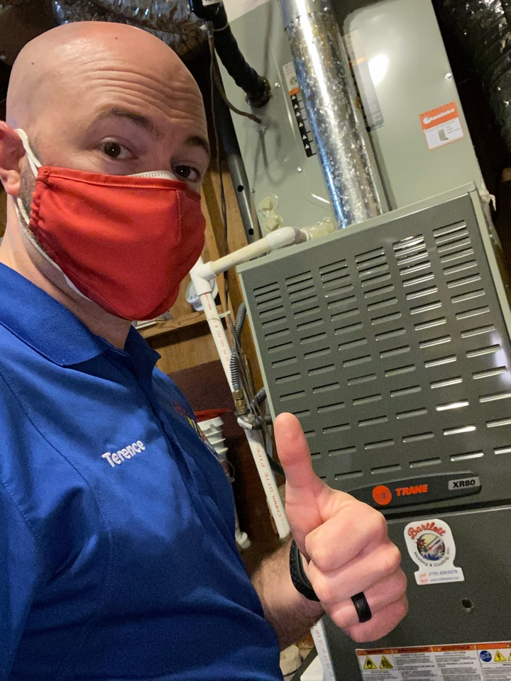 Smyrna, GA - Noise issue on Trane furnace in Smyrna, ga