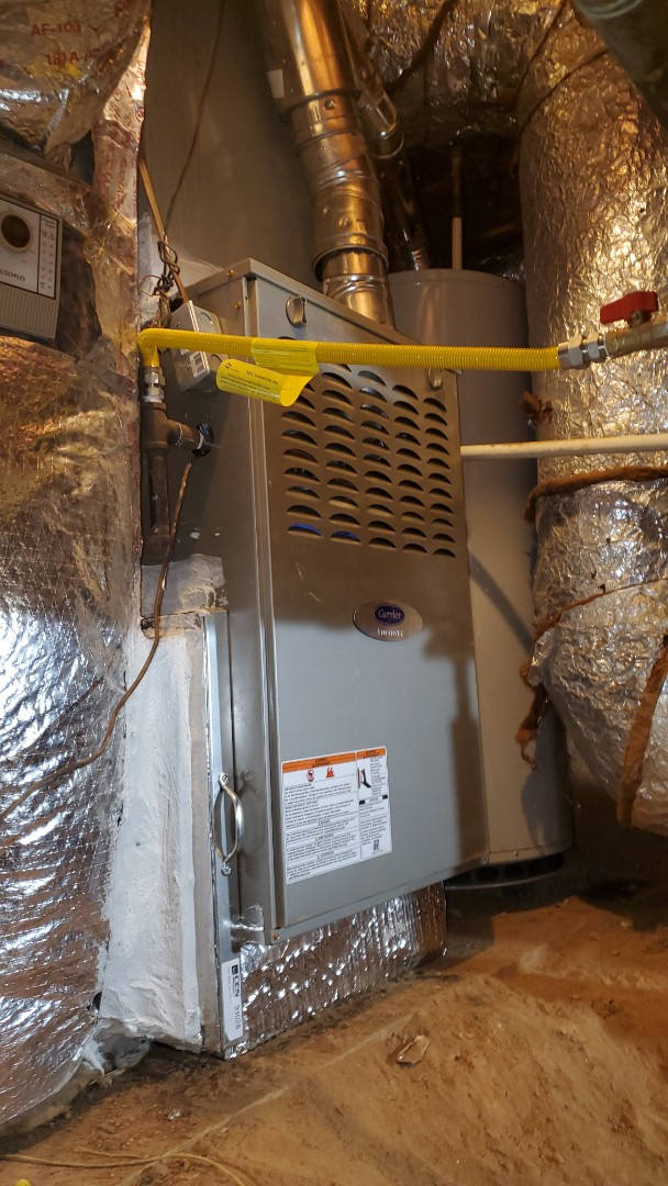 Roswell, GA - Installed new Carrier furnace