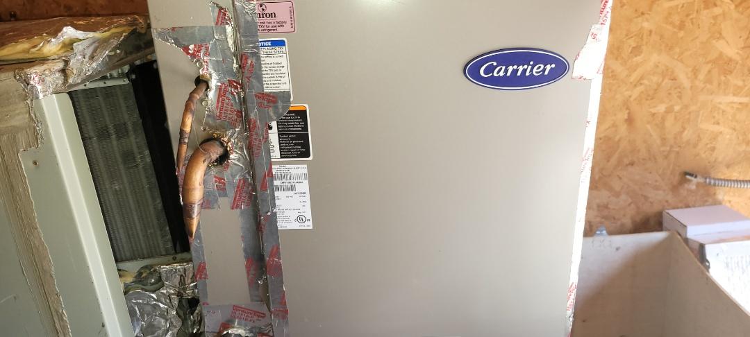 Marietta, GA - Inspeck odor for Upstairs system. Cleaned evap coil. Marietta
