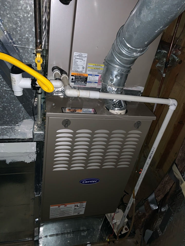 Sandy Springs, GA - Performed Heat maintenance on 2 Carrier systems