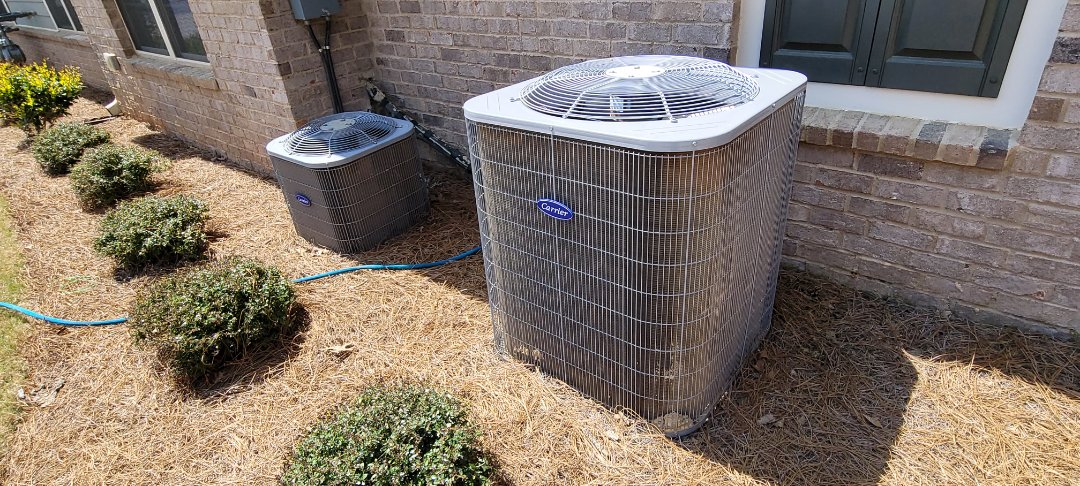 Acworth, GA - Performed AC Maintenance on 2 Carrier Condensing Units.  Marietta