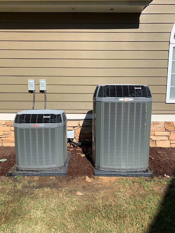 Powder Springs, GA - Performed 6 month 2 system AC maintenance