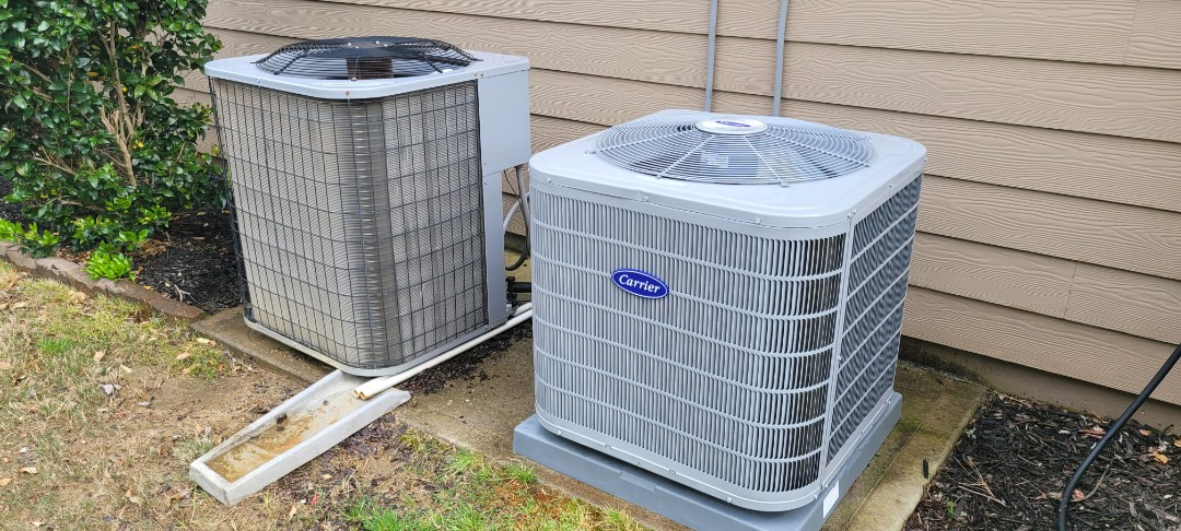 Acworth, GA - Performed AC Maintenance on a Carrier and a Heil Condensing Units. Acworth