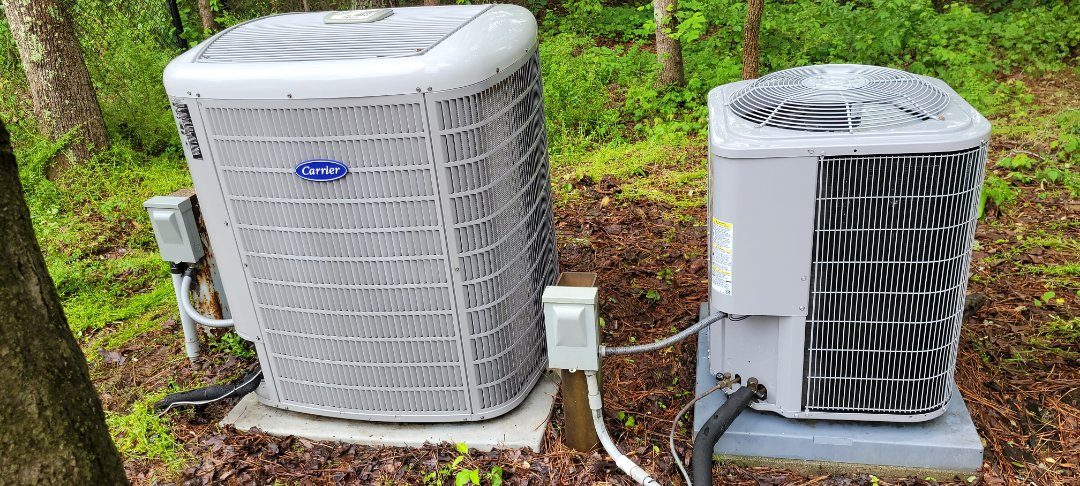Powder Springs, GA - Performed AC Maintenance on 2 Carrier Condensing Units.  Powder Springs