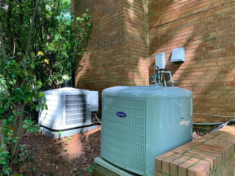 Sandy Springs, GA - Performed 2 system AC maintenance