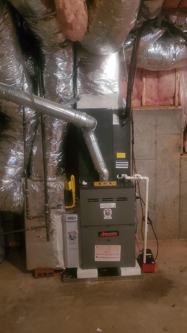Marietta, GA - Installed new Amana system