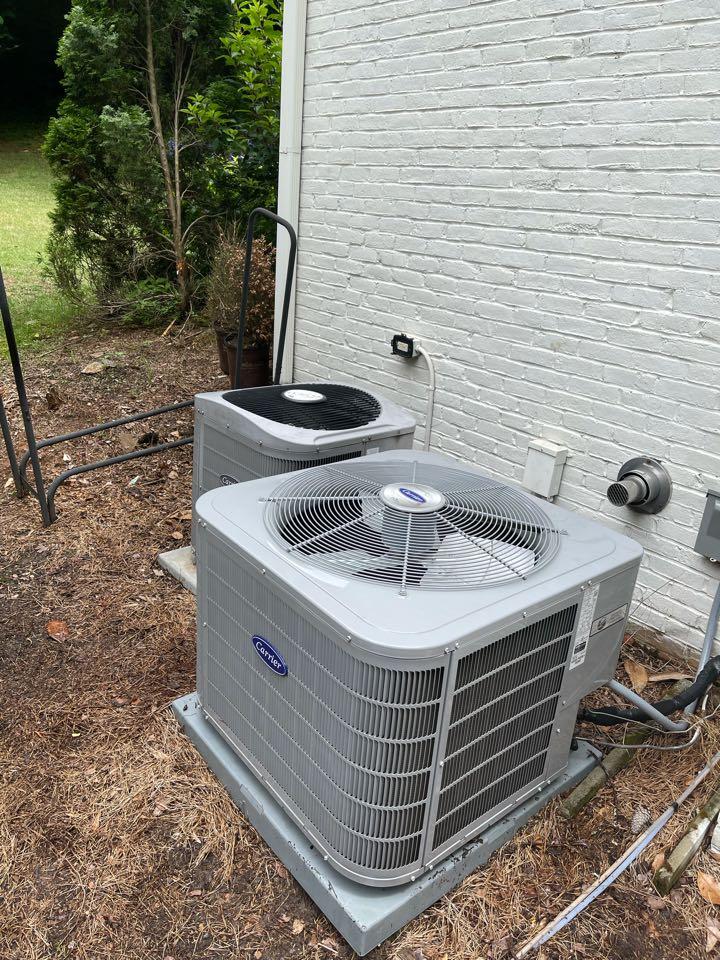 Atlanta, GA - Performed 2 system Ac Maintenance