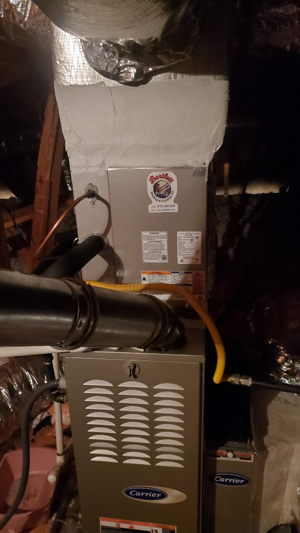 Powder Springs, GA - Installed new 16 seer cooling system