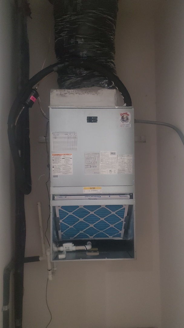 Atlanta, GA - Installed new Carrier 16 seer Heatpump with Carrier wall hung airhandler and Ecobee Wifi Thermostat