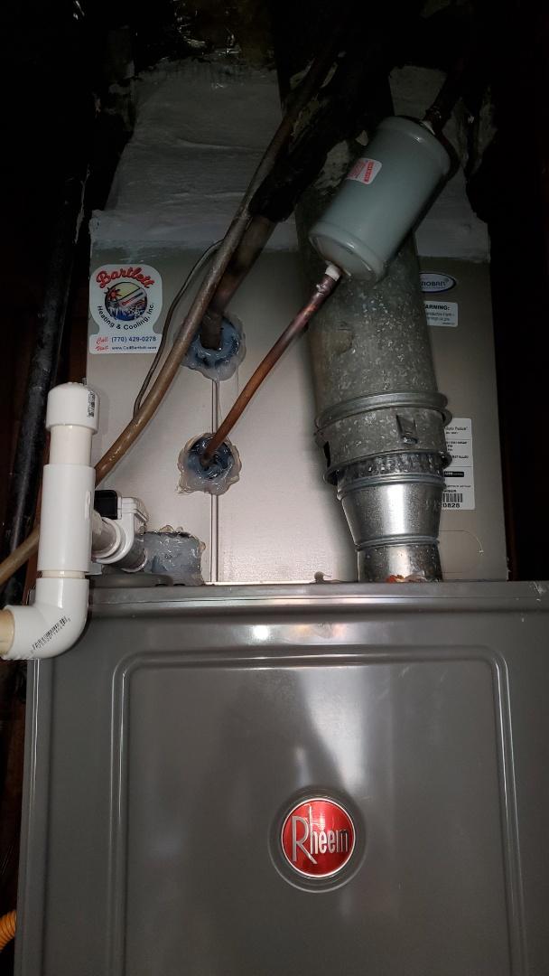 Marietta, GA - Installed new Evaporator coil