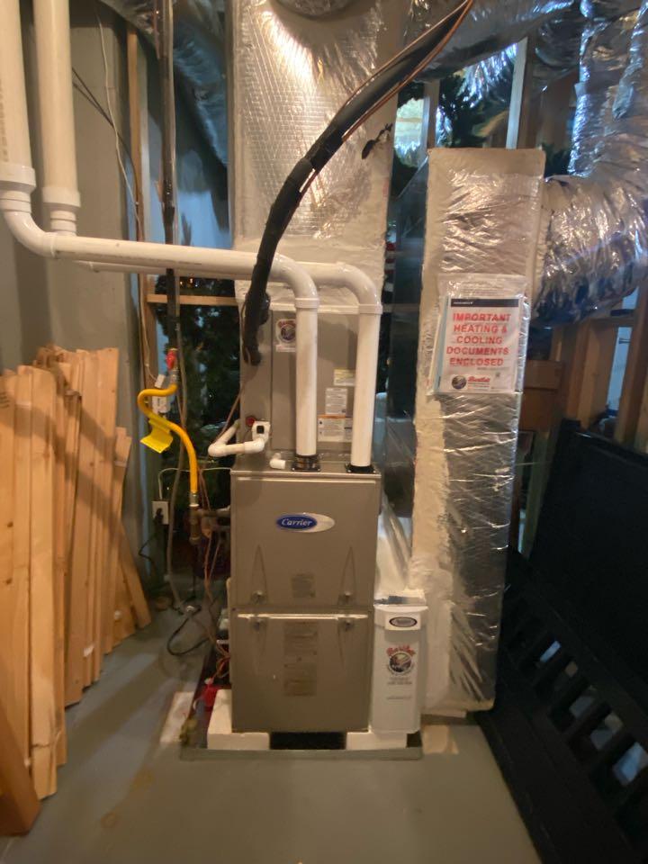 Atlanta, GA - 16 seer 3 ton Purim condenser and matching evaporator coil and 80,000 btu furnace