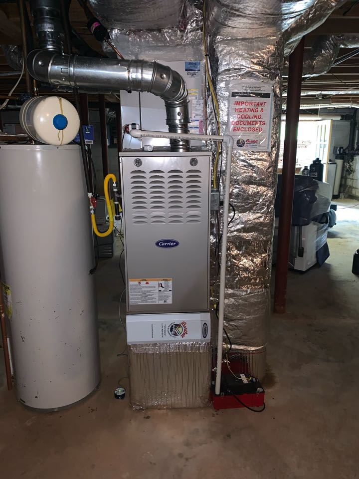 Marietta, GA - Installed 14 seer 3 ton furnace with matching evaporator coil and 14 seer condenser unit