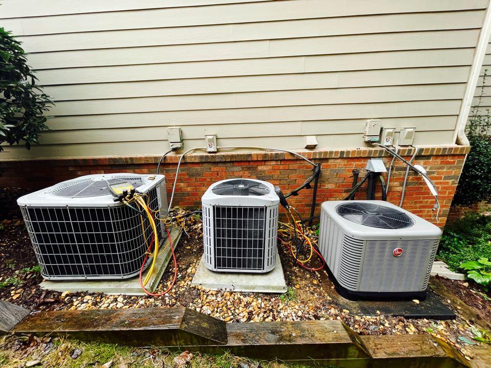 Smyrna, GA - Performed 3 system AC maintenance