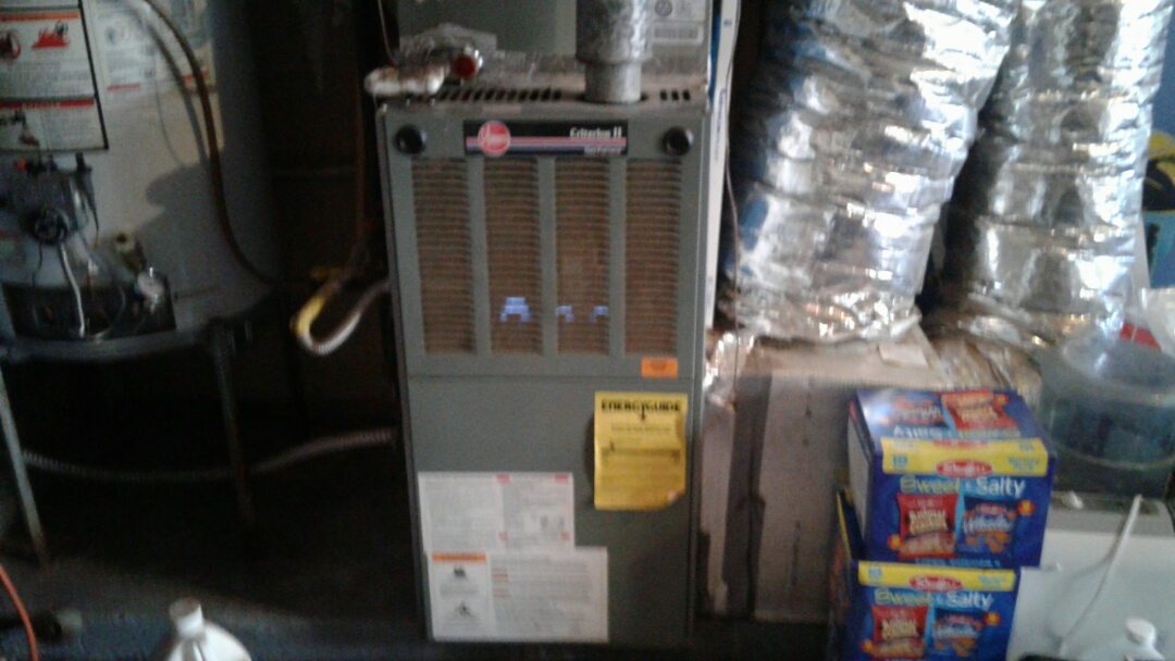 Powder Springs, GA - Performed 6 Month Heat Check Up on a Rheem Furnace. Powder Springs