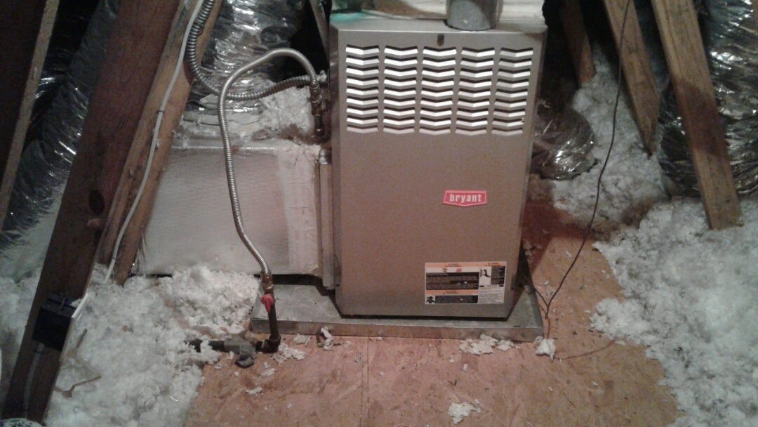 Powder Springs, GA - Performed 6 Month Heat Check Up on a Bryant Furnace. Powder Springs