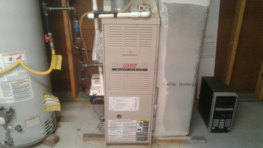 Powder Springs, GA - Performed 6 Month Heat Check Up on 2 Lennox Furnaces.  Powder Springs