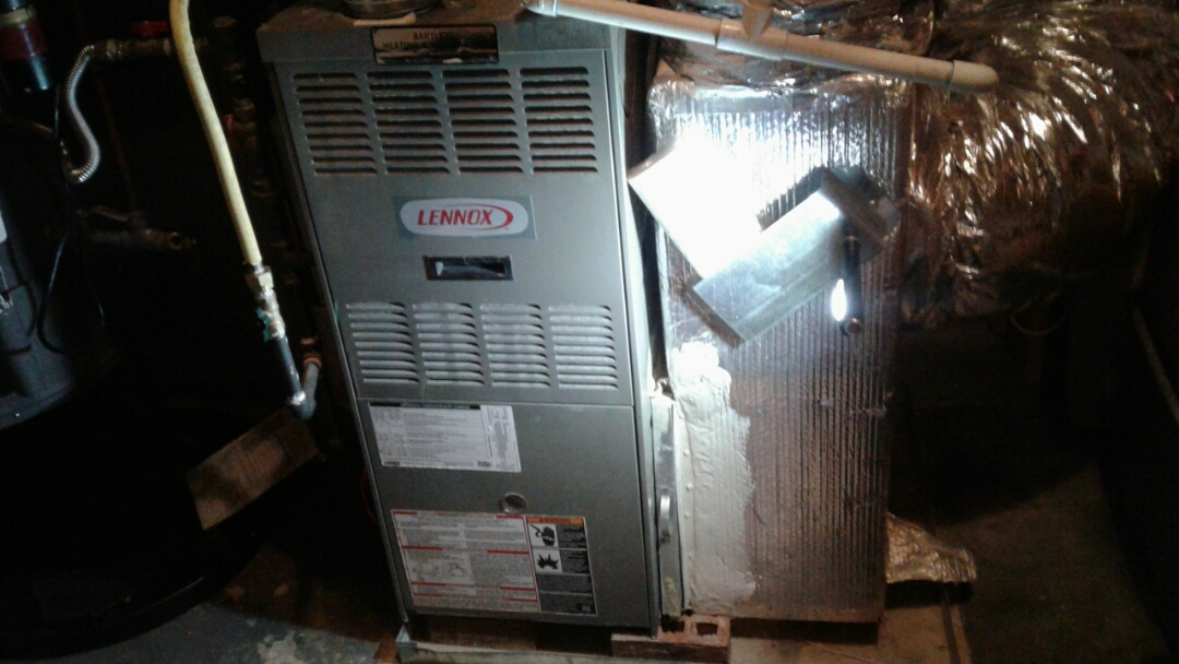 Powder Springs, GA - Performed 6 Month Heat Check Up on 3 Lennox furnace and Trame Heat pump. Powder Springs