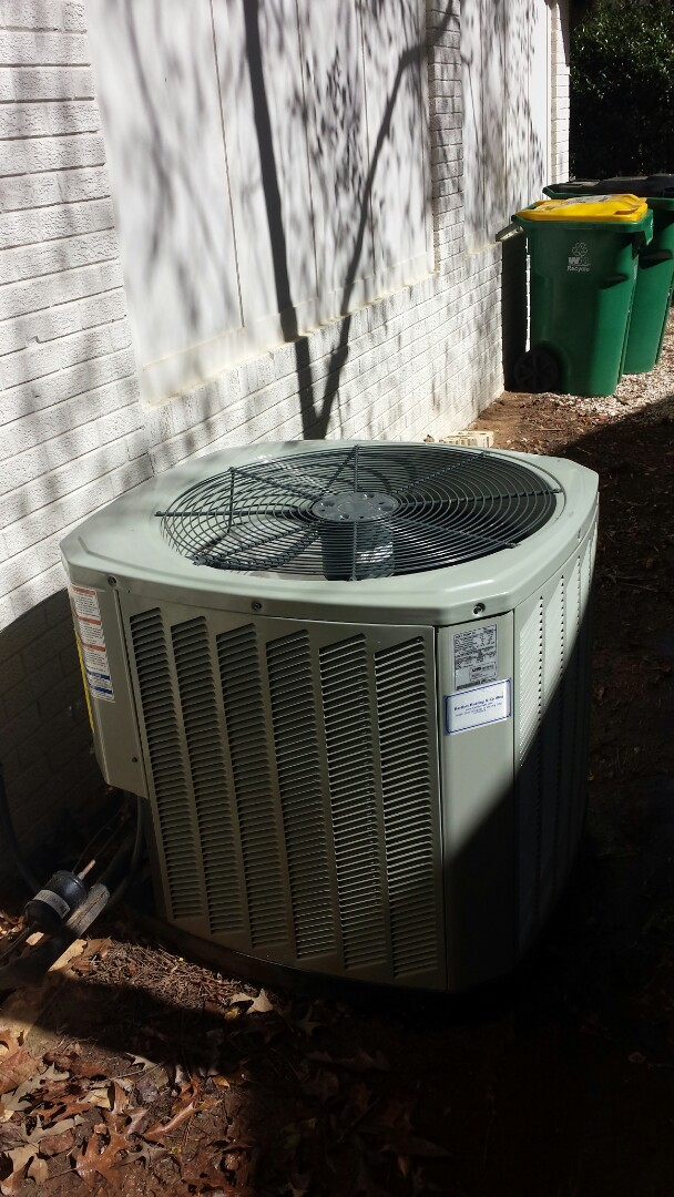 Sandy Springs, GA - Routine cooling maintenance on 1 Trans air conditioner.