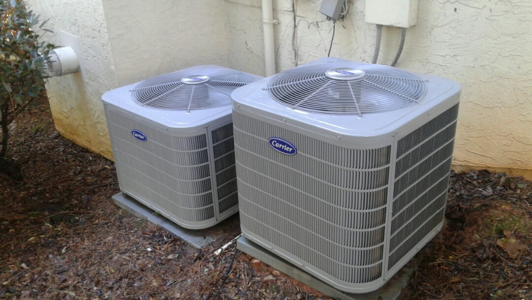 Acworth, GA - Performed AC Tune Up on 2 Carrier condensing units.  Acworth