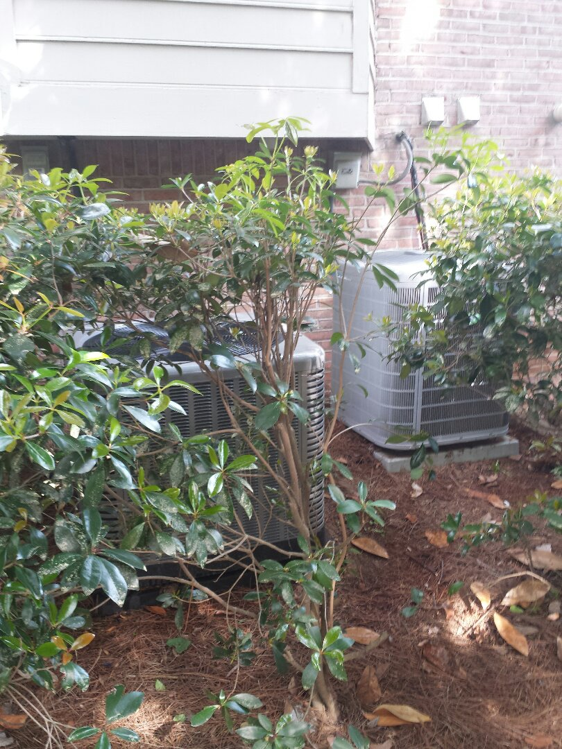 Sandy Springs, GA - Routine cooling maintenance on 2 air conditioners.