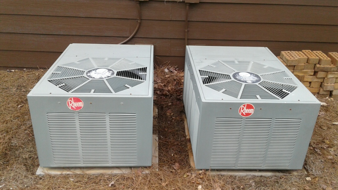 Kennesaw, GA - Performed AC Tune Up on 2 Rheem Condensing Units. Kennesaw