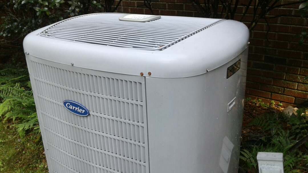 Kennesaw, GA - Performed AC Tune Up on a Carrier Condensing Unit and a Trane. Kennesaw