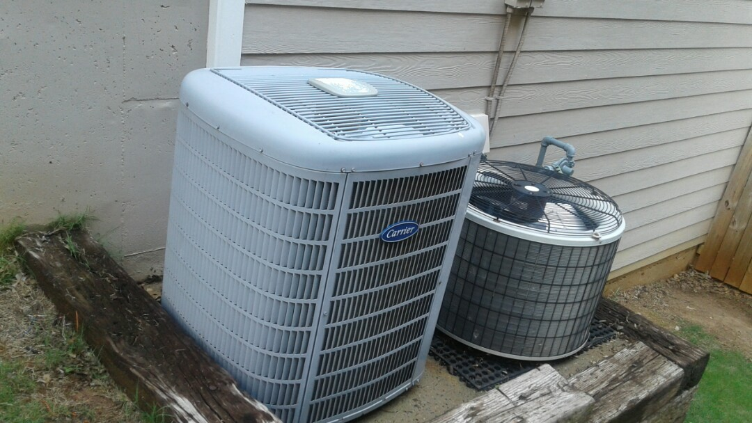 Kennesaw, GA - Performed AC Tune Up on a Carrier Condensing Unit and a Payne condensing unit.  Kennesaw