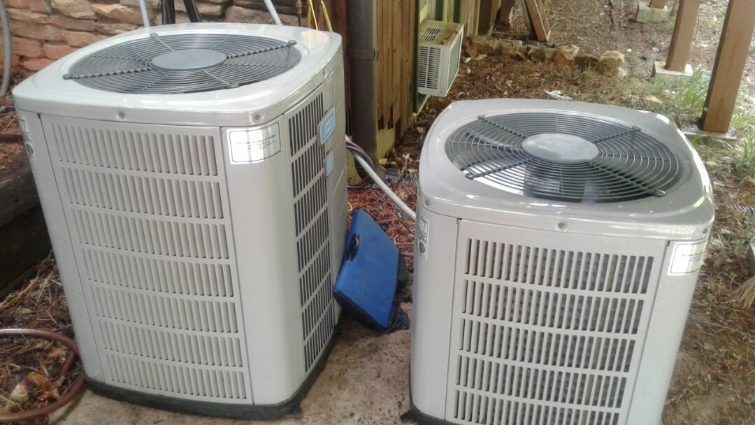 Kennesaw, GA - Performed AC Tune Up on 2 Trane Condensing Units.  Marietta