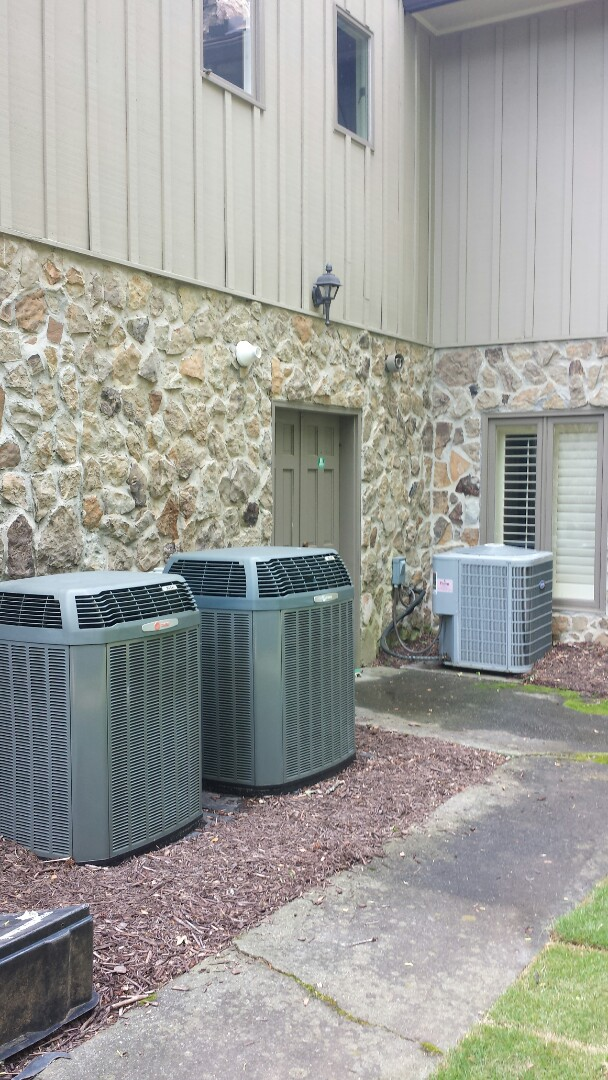 Sandy Springs, GA - Bi annual service agreement cooling maintenance on 3 air conditioners.
