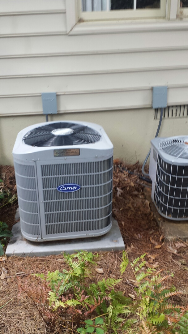 Roswell, GA - Two system AC maintenance tune up service