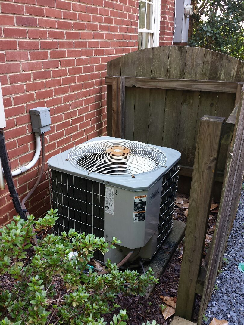 Atlanta, GA - Bi annual service agreement cooling maintenance on 1 Carrier air conditioner.