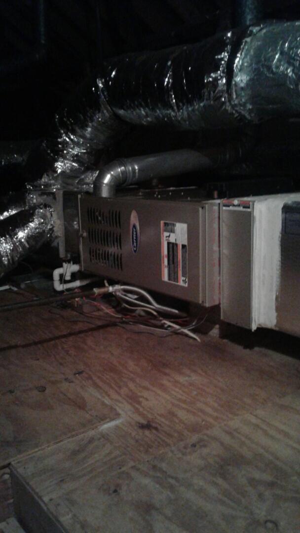 Dunwoody, GA - Carrier gas Furnace maintain