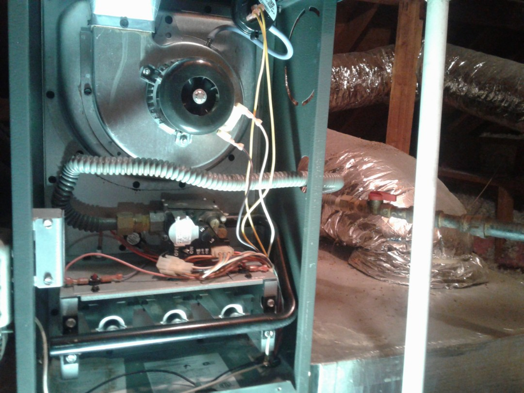 Acworth, GA - Performed Heat Maintenance on 2 Goodman Furnaces. Acworth