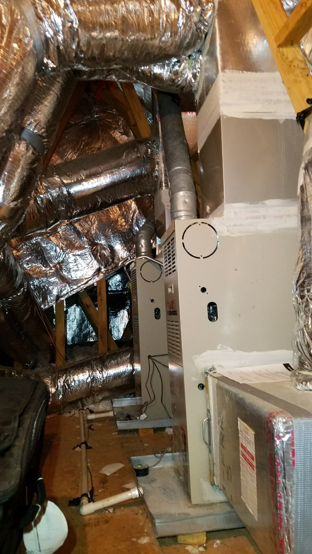 Powder Springs, GA - Quoting an Infinity Furnace system!