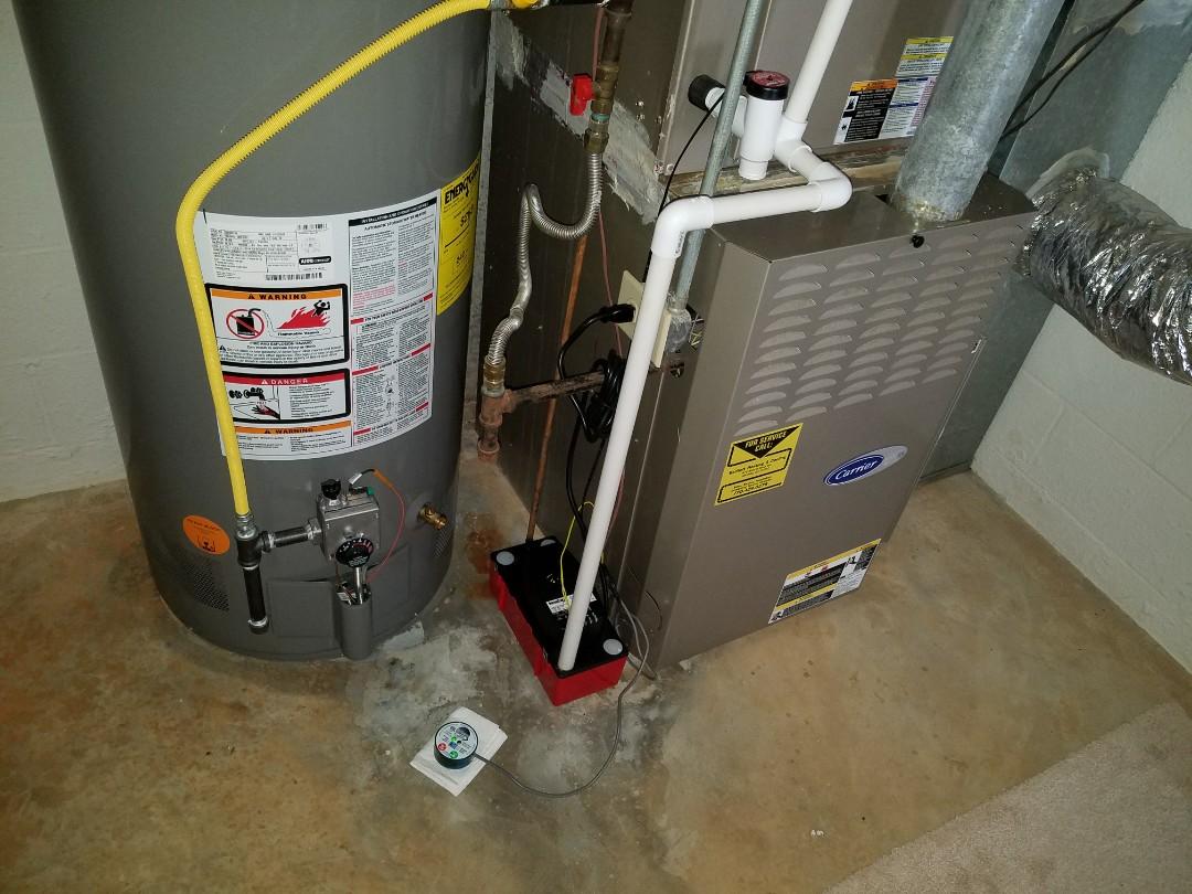 Acworth, GA - Water leak. Check system and restored heat operation. Acworth