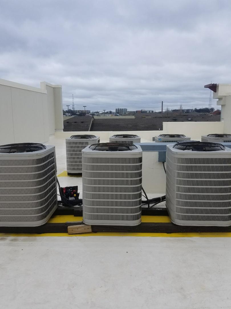 Atlanta, GA - Annual heating service on 1 Ducane heat pump/air handler system.